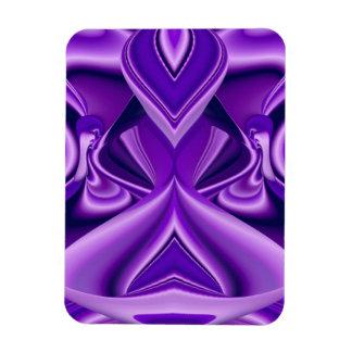 紫色の夢、抽象的なファンタジーの虹芸術 マグネット