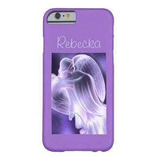紫色の天使の電話箱 iPhone 6 ベアリーゼアケース