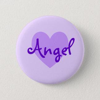 紫色の天使 5.7CM 丸型バッジ