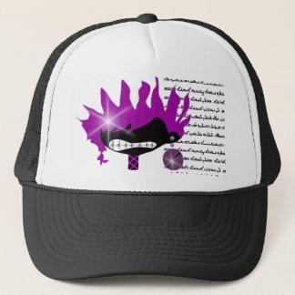 紫色の女の子 キャップ