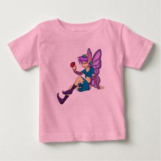 紫色の妖精の幼児ワイシャツ ベビーTシャツ