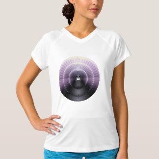 紫色の宇宙 Tシャツ