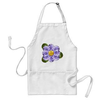紫色の宝石の花 スタンダードエプロン
