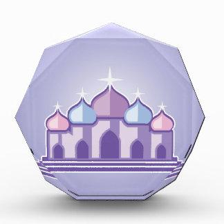 紫色の寺院 表彰盾