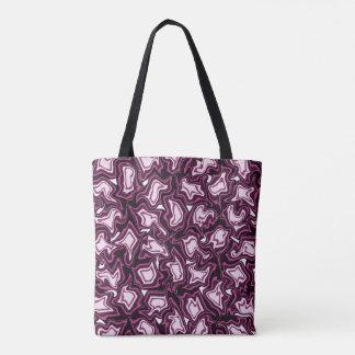 紫色の嵐 トートバッグ