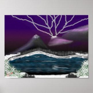紫色の嵐 ポスター