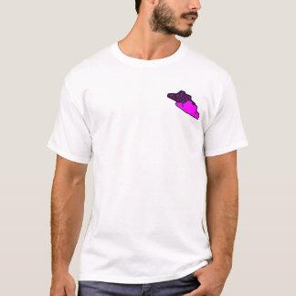 紫色の帽子映画 Tシャツ