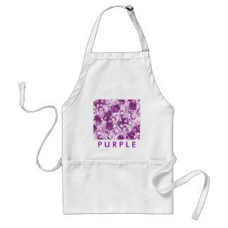 紫色の当惑 スタンダードエプロン