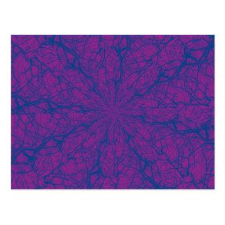紫色の当惑 ポストカード