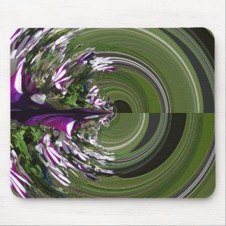 紫色の当惑 マウスパッド