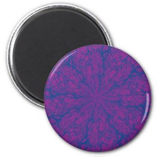 紫色の当惑 マグネット