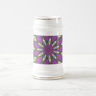 紫色の情熱ステイン ビールジョッキ