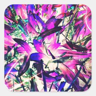 紫色の情熱 スクエアシール