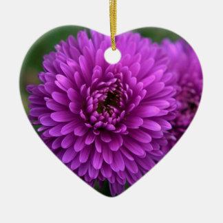 紫色の情熱 セラミックオーナメント