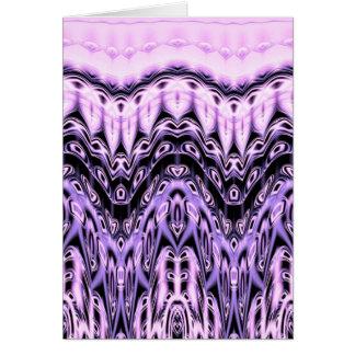 紫色の想像 カード