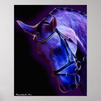 紫色の戦士 ポスター