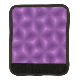 紫色の抽象的なパターン ラゲッジ ハンドルラップ