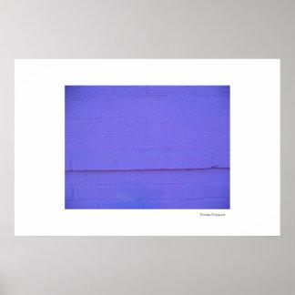紫色の抽象的なポスターかプリント ポスター