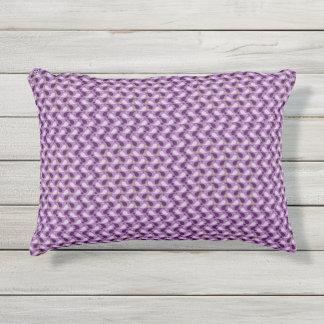 紫色の抽象的な枕 アウトドアクッション