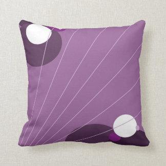 紫色の抽象芸術 クッション