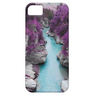 紫色の旅行 iPhone SE/5/5s ケース