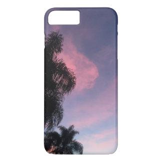 紫色の日没の電話箱 iPhone 8 PLUS/7 PLUSケース