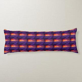 紫色の日没 ボディピロー