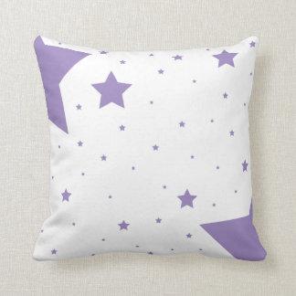 紫色の星のコレクション クッション