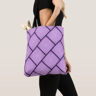 紫色の星のトートバック トートバッグ