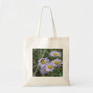 紫色の星状体の蜂 トートバッグ
