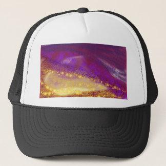 紫色の星 キャップ