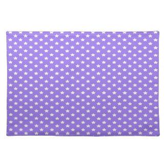 紫色の星 ランチョンマット