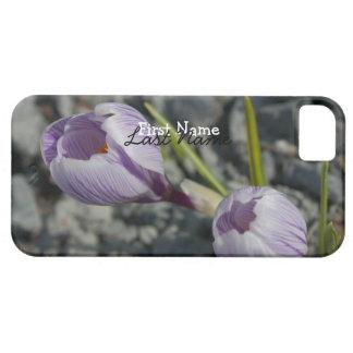 紫色の春; カスタマイズ可能 iPhone SE/5/5s ケース