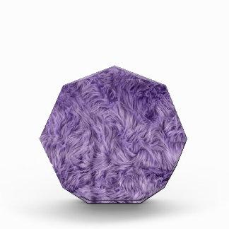 紫色の曖昧な毛皮 表彰盾
