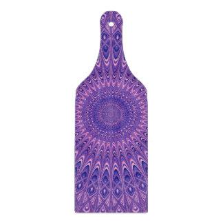 紫色の曼荼羅 カッティングボード