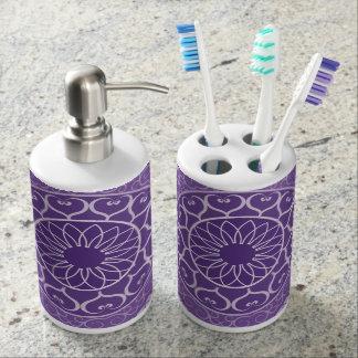 紫色の曼荼羅 バスセット