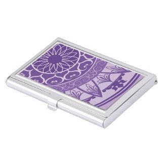 紫色の曼荼羅 名刺入れ