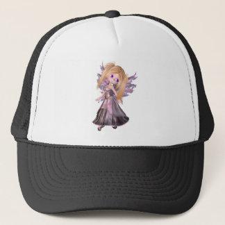 紫色の服の漫画の妖精のプリンセス キャップ