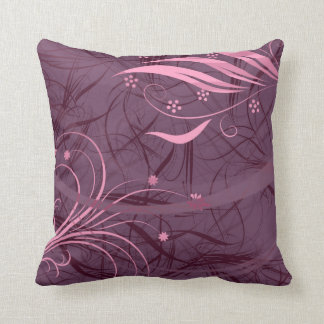 紫色の枕 クッション