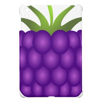紫色の果実の刺激を受けたなラズベリー iPad MINIケース
