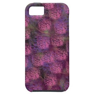 紫色の柔らかい質のコレクション iPhone SE/5/5s ケース