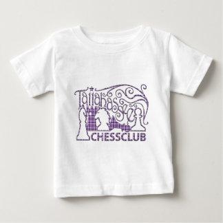 紫色の格子縞のシャツ ベビーTシャツ