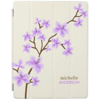 紫色の桜の木 iPadスマートカバー