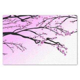 紫色の桜の桜 薄葉紙