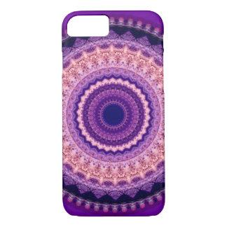 紫色の楽園の曼荼羅のiPhone 7の箱 iPhone 7ケース