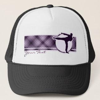 紫色の武道 キャップ