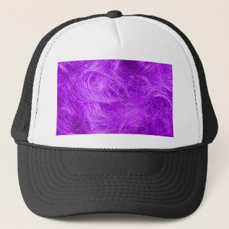 紫色の毛皮 キャップ