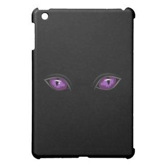 紫色の気味悪い目 iPad MINIカバー