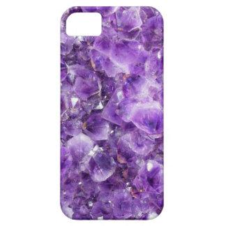 紫色の水晶コレクション iPhone SE/5/5s ケース