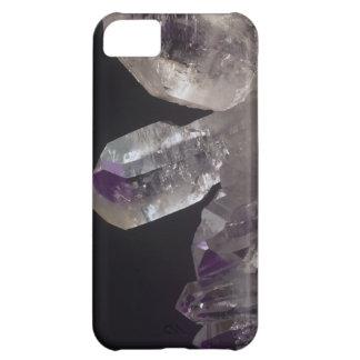 紫色の水晶 iPhone5Cケース